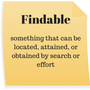 Findable